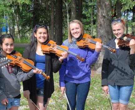 Bergen fiddlers
