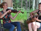 The entertainment: Bergen fiddlers